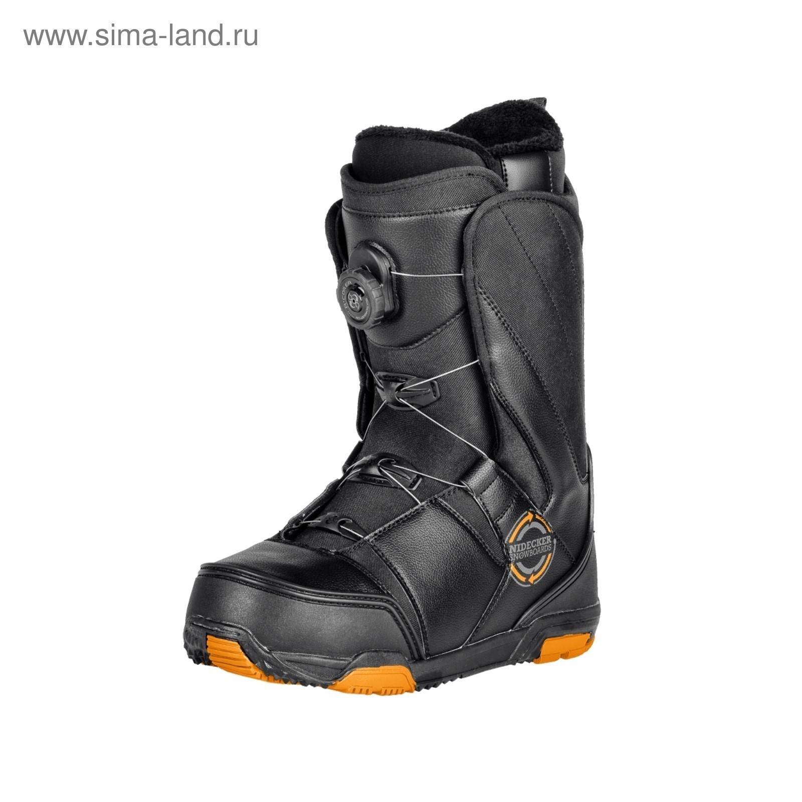 Ботинки для сноуборда NIDECKER BOA COILER RENTAL BLACK, размер 28,5 ... 532cb69f3d4