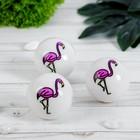 """Мяч световой """"Фламинго"""" 5*5 см"""