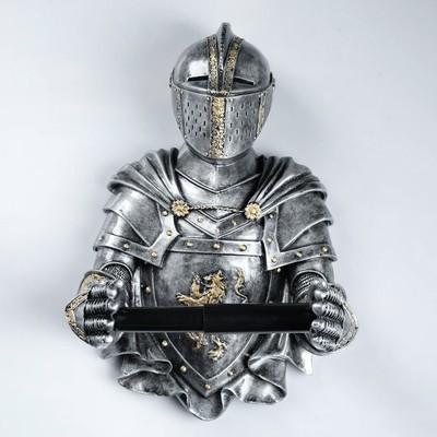 "Фигурный держатель бумаги  ""Рыцарь"" 18х22х32см"
