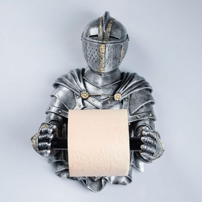 "Держатель для туалетной бумаги ""Рыцарь"" 16х22х32см"