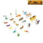 Набор животных «Дикие животные», 16 фигурок с аксессуарами