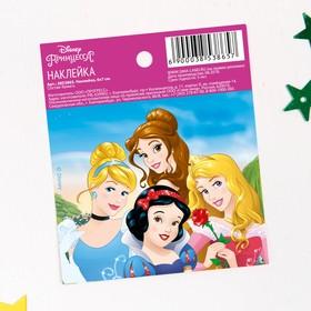 Наклейки бумажные 'Верь в сказку', Принцессы, 6х7 см Ош