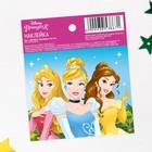 """Наклейки бумажные """"Принцессы"""", Принцессы, 6х7 см"""