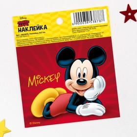 Наклейки бумажные 'Mickey', Микки Маус, 6х7 см Ош
