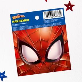 Наклейки бумажные 'Spider-man', Человек-паук, 6х7 см Ош