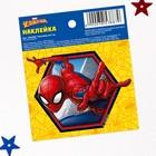 """Наклейки бумажные """"Spider-man"""", Человек-паук, 6х7 см"""