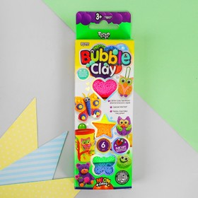 Шариковый пластилин застывающий «BUBBLE CLAY» BBC-01-01