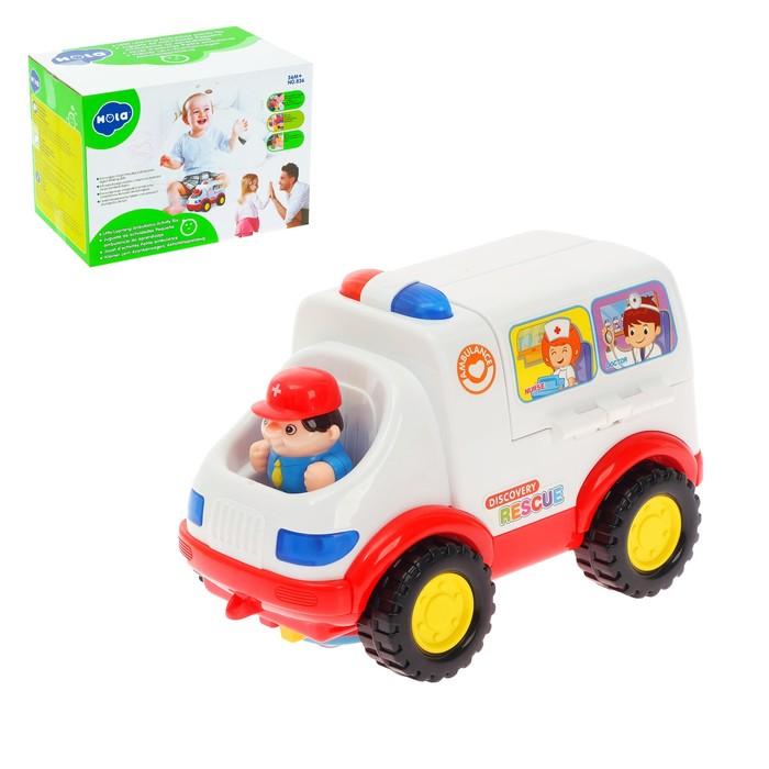 Развивающая игрушка «Скорая помощь» с аксессуарами, световые и звуковые эффекты