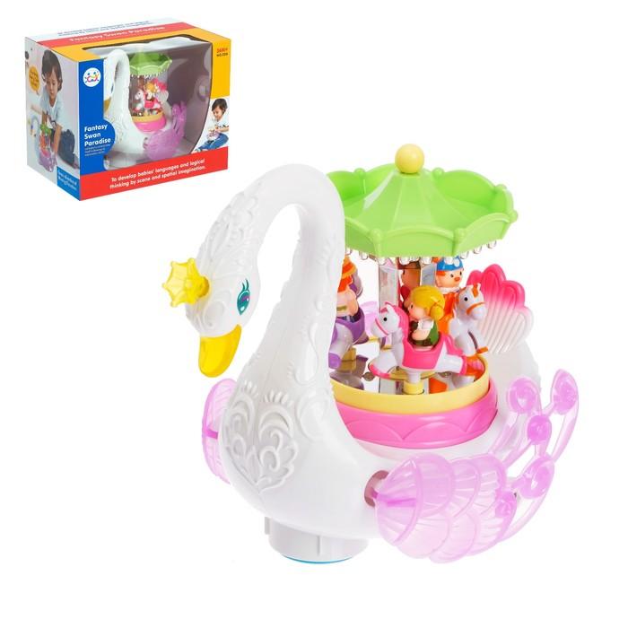 Развивающая игрушка «Лебедь», звуковые эффекты