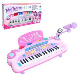 Пианино «Музыкант» с пюпитром, микрофоном, световые и звуковые эффекты