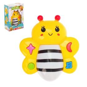 Развивающая игрушка «Пчёлка - красавица», звуковые эффекты, цвета МИКС