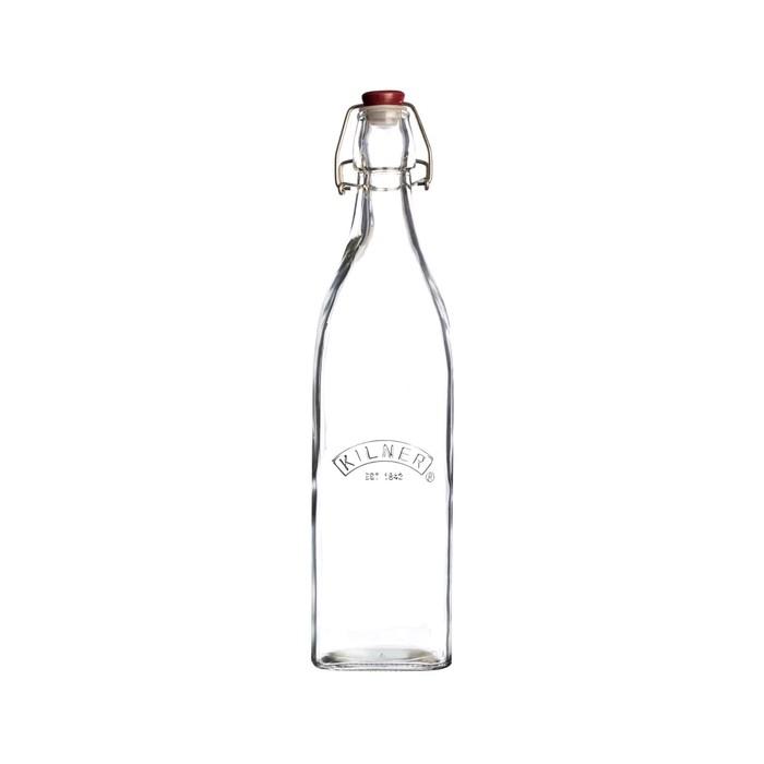 Бутылка Kilner Clip Top, квадратная, 550 мл