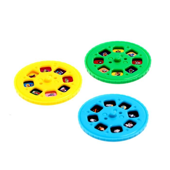 Проектор-фонарик «Супер-проектор №1: транспорт, космос, пираты»