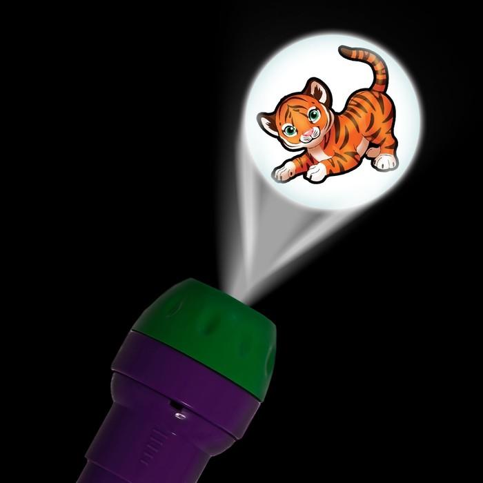 Проектор-фонарик «Супер-проектор №2: Мир животных»