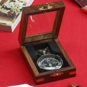 """Часы """"Вера"""" в шкатулке 10,5х7,5х3,5 см"""