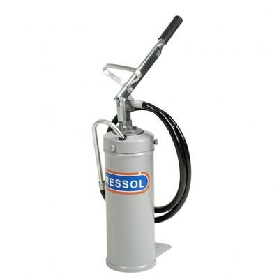 Переносной маслораздатчик Pressol 17781, емкость 8 л, ручной, масла до SAE 40, 85 см3/ход