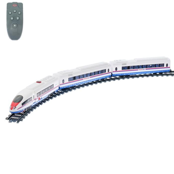 Железная дорога «Молния», радиоуправление, свет и звук