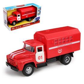 Грузовик «Пожарная служба», масштаб 1:34, механика