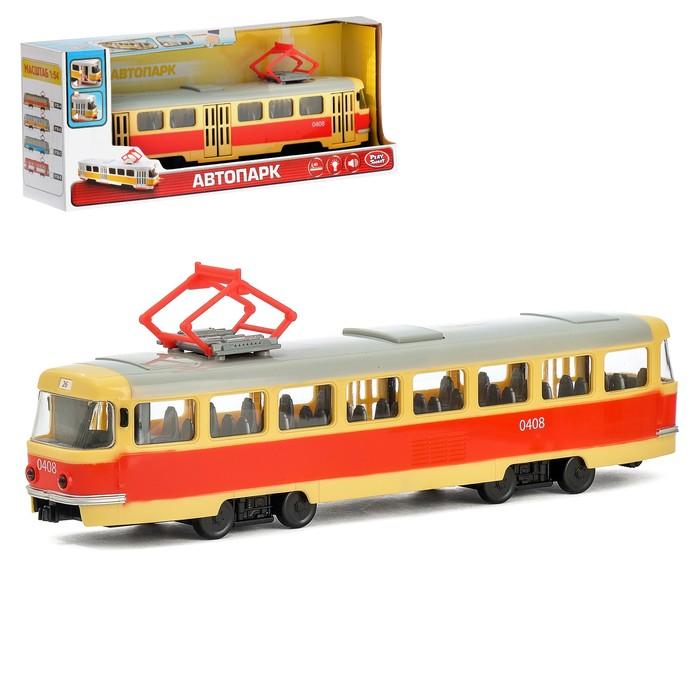 Трамвай «Город», масштаб 1:54