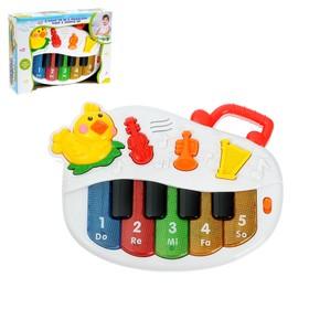 Пианино «Цыплёнок», световые и звуковые эффекты