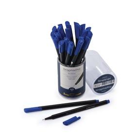 Ручка капиллярная Graphixpro FINELINER, узел 0.4 мм, стержень синий