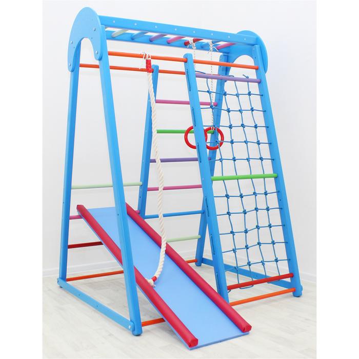 Детский спортивный комплекс Tiny Winner, цвет синий