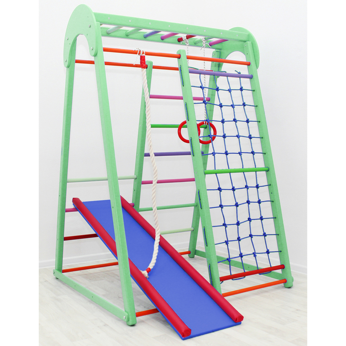 Детский спортивный комплекс Tiny Winner, цвет фисташка