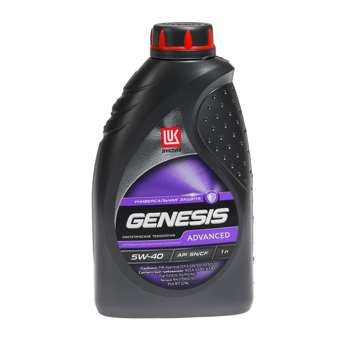 Масло моторное Лукойл Genesis Advanced 5W-40, 1 л