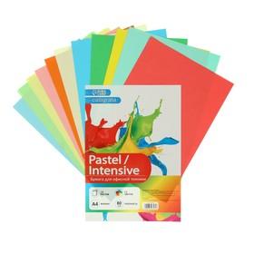 """Бумага цветная А4, 24 листа, 12 цветов """"Для офисной техники"""", 80 г/м²"""
