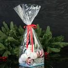 """Подарочная коробка """"С Новым годом!"""", с елкой, 14,5 х 14,5 х 6,7 см"""