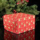 """Коробка на 4 капкейка """"Елочки"""", 16 х 16 х 10 см - фото 308036819"""