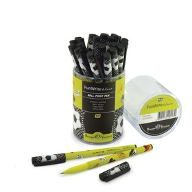 Ручка шариковая FunWrite «Футбольные бутсы», узел 0.5 мм, синие чернила, матовый корпус Silk Touch
