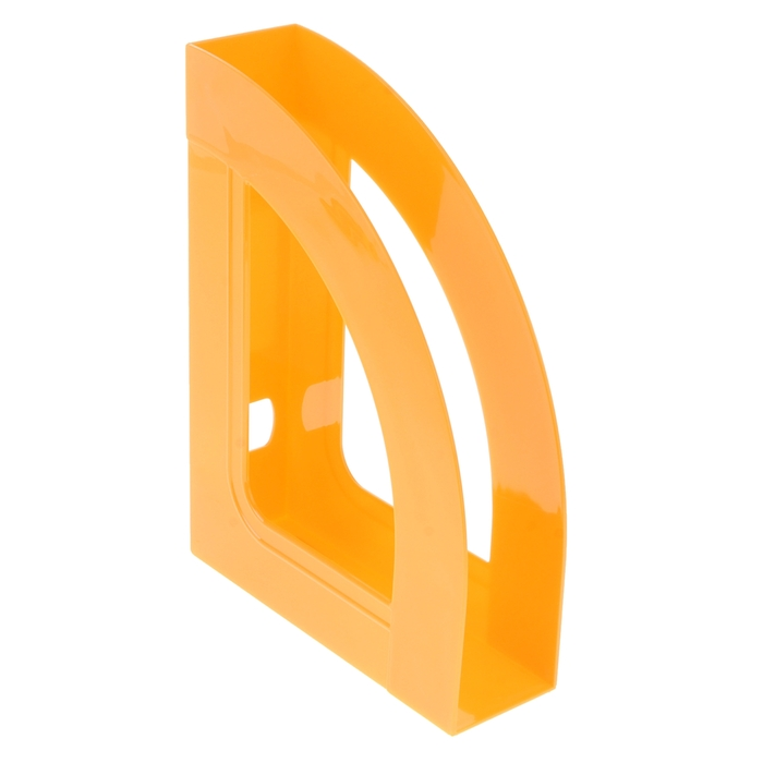 """Лоток для бумаг вертикальный """"Респект"""", оранжевый ORANGE"""
