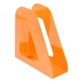 Лоток для бумаг вертикальный «Фаворит», оранжевый MANDARIN