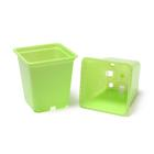 Pot for seedlings, 250 ml, 7 × 7 × 8 cm, brown