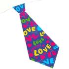 """Карнавальный галстук """"Love"""", набор 6 шт."""