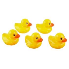 Игрушки - рыбалка для купания «Утёнок + сачок», 7 предметов