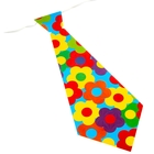 Карнавальный галстук «Цветы», набор 6 шт.
