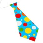 """Карнавальный галстук """"Горох"""", набор 6 шт."""