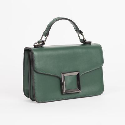 Bag, 2 Department magnet, adjustable strap, color green