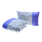 Комплект «Миродель»: одеяло 145х205 ± 5 см, подушка 50х70см, холофан, чехол МИКС