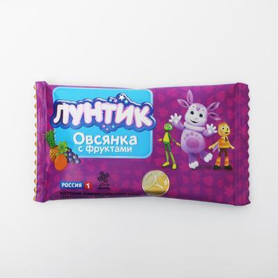"""Батончик  Виталад Лунтик """"Готовый завтрак овсянка с фруктами"""", 40 г."""