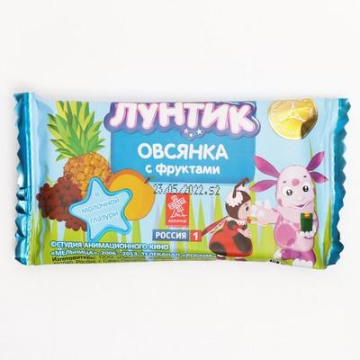 "Bar Vitalag Luntik ""- go Breakfast oatmeal with fruit"" in the milk glaze, 40"