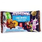 """Батончик  Виталад Лунтик """"Готовый завтрак овсянка с фруктами"""" в шоколадной глазури, 40 г."""