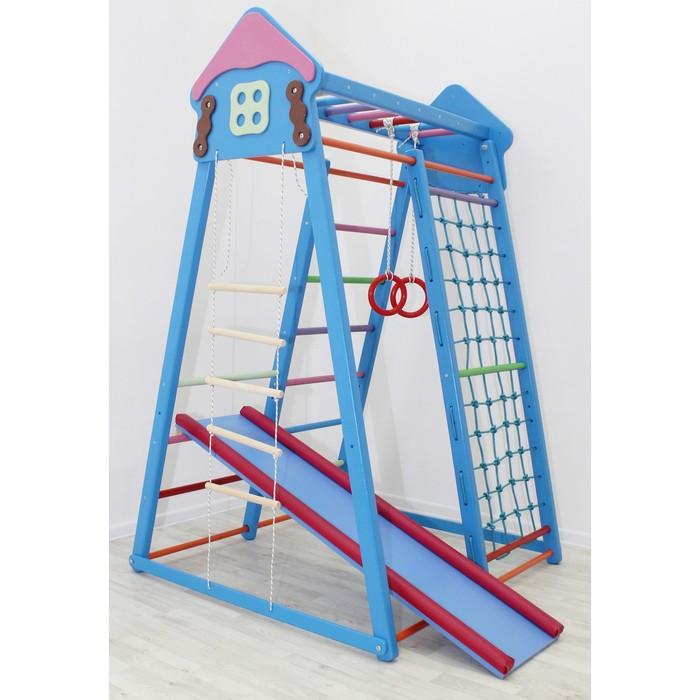 Детский спортивный комплекс Cottage, цвет синий
