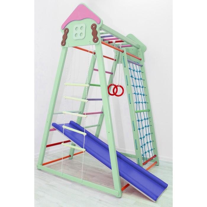 Детский спортивный комплекс Cottage, цвет фисташка