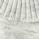 Шарф-манишка для мальчика, 5-8 лет, цвет серый - фото 105567972