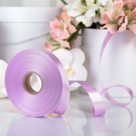 Tape for decor and gifts, Orchid, 2 cm x 91 m