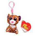 """Мягкая игрушка-брелок """"Леопард"""" коричневый, 8 см M0014"""