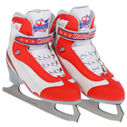 Коньки фигурные Молодежка MFS, цвет красный, размер 38